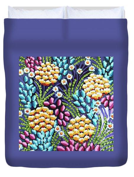 Floral Whimsy 2 Duvet Cover