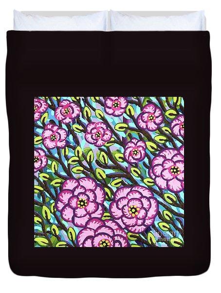 Floral Whimsy 3 Duvet Cover