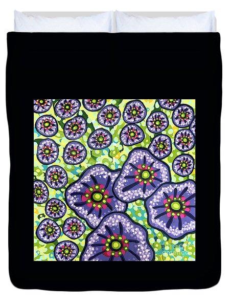 Floral Whimsy 4 Duvet Cover