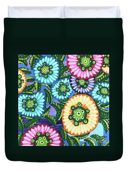 Floral Whimsy 6 Duvet Cover