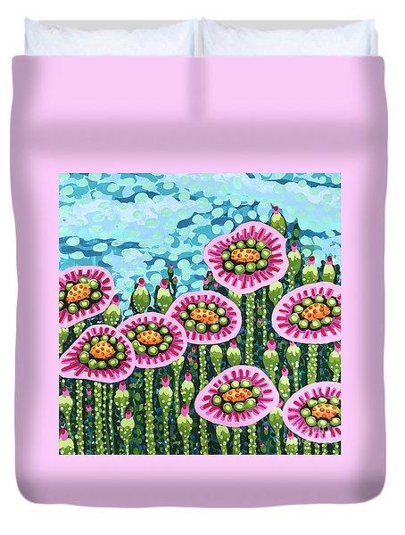 Floral Whimsy 8 Duvet Cover