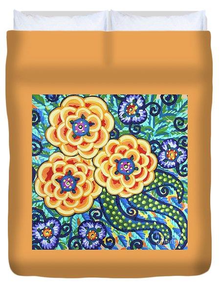 Floral Whimsy 9 Duvet Cover