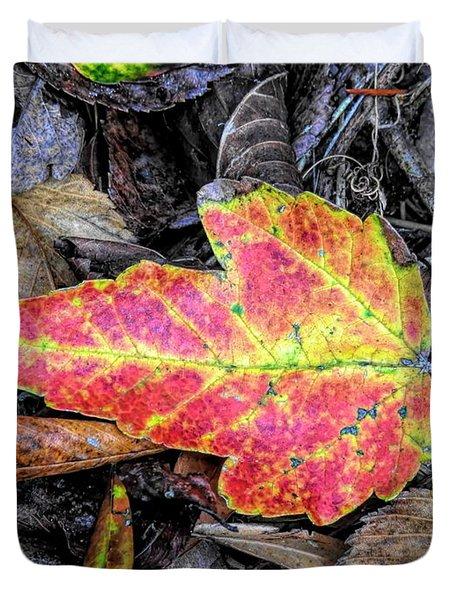 Florida Foliage Duvet Cover