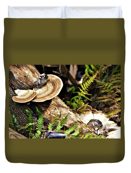 Florida Forest Duvet Cover