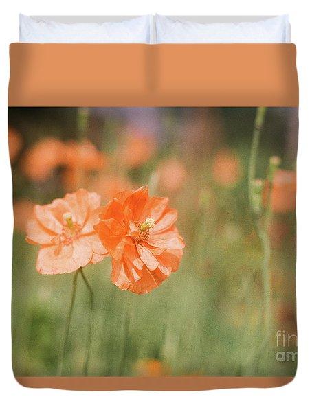 Flower Buddies Duvet Cover
