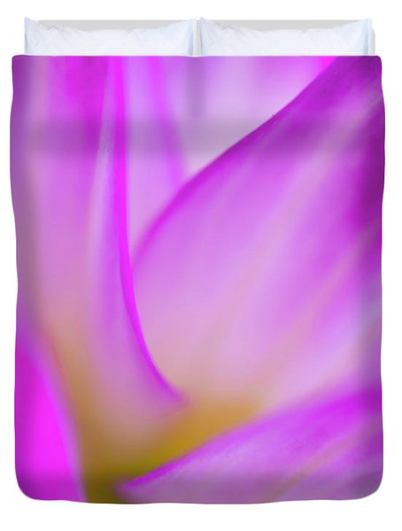 Flower Close Up Duvet Cover