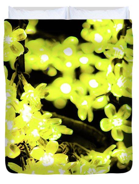 Flower Lights 6 Duvet Cover