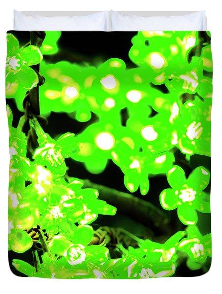Flower Lights 7 Duvet Cover