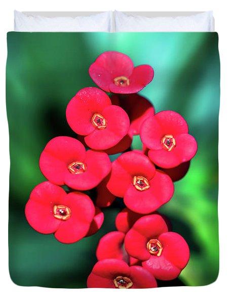 Flower Parade Duvet Cover