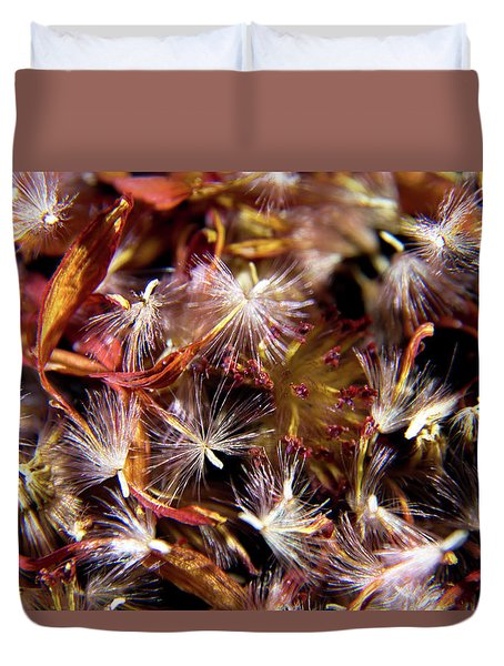 Flower Seeds-1 Duvet Cover