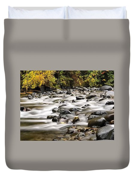Flowing Molalla Duvet Cover