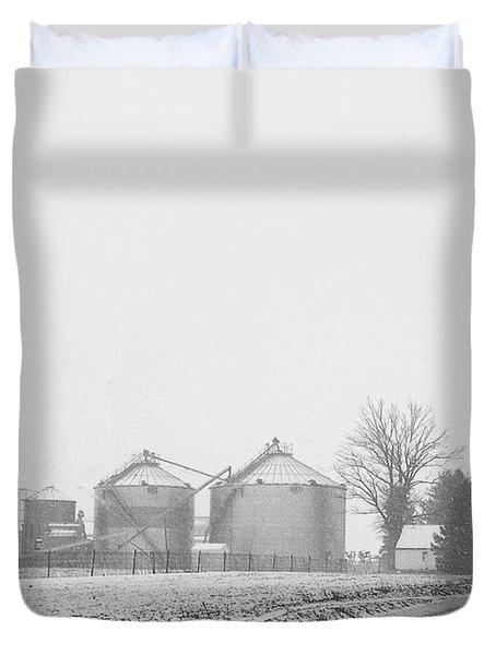 Foggy Farm Duvet Cover