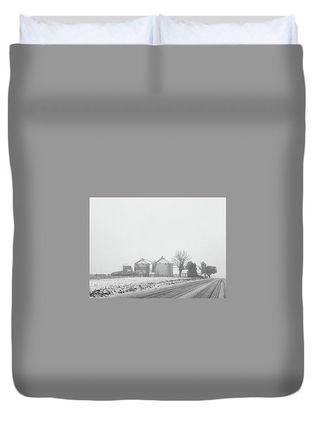 Foggy Farm Duvet Cover