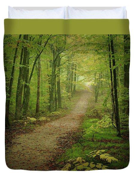 Foggy Path Duvet Cover