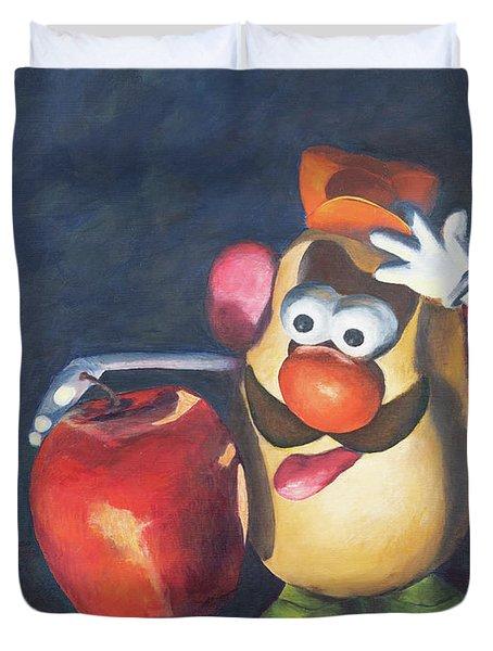 Forbidden Fruit Duvet Cover