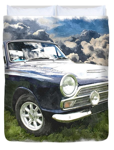 Ford Cortina 1 Duvet Cover