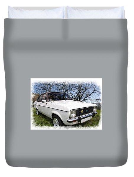 Ford Escort Duvet Cover