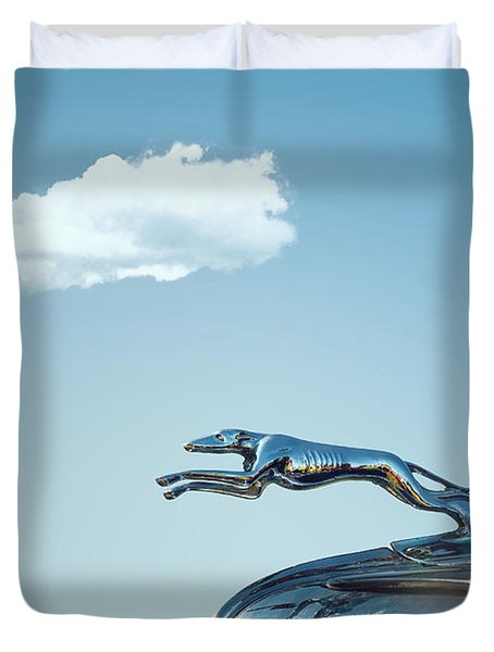 Ford Greyhound Duvet Cover