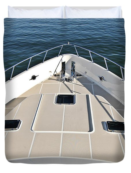 Fore Deck Duvet Cover