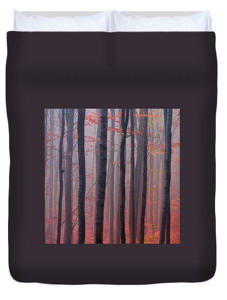 Forest Barcode Duvet Cover