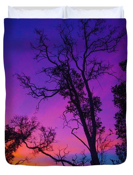Forest Colors Duvet Cover