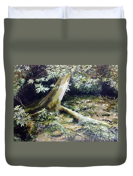 Forest Edge Duvet Cover