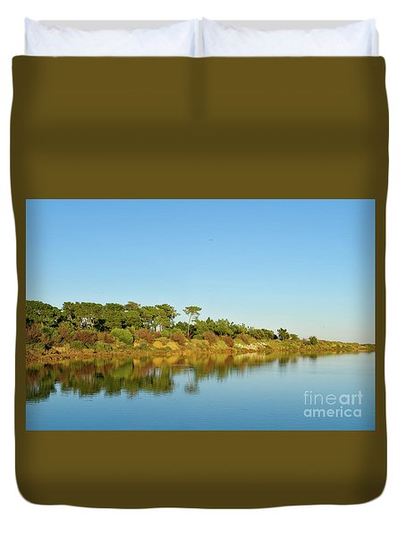 Forests Mirror Duvet Cover
