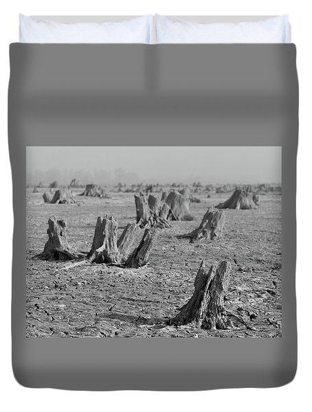Duvet Cover featuring the photograph Forrest by Davor Zerjav