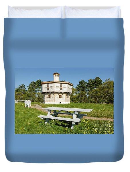 Fort Edgecomb - Edgecomb, Maine Duvet Cover