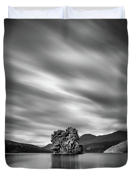 Four Rocks Duvet Cover