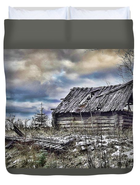 Four Winds Hotel Duvet Cover