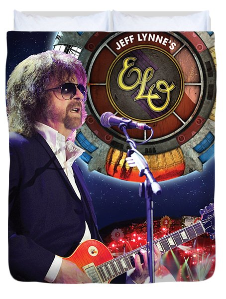 JEFF PILLOWCASE Lynne ELO Electric light orchestra bed linen White or Red NEW