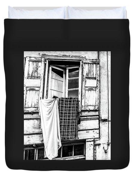 Franch Laundry Duvet Cover