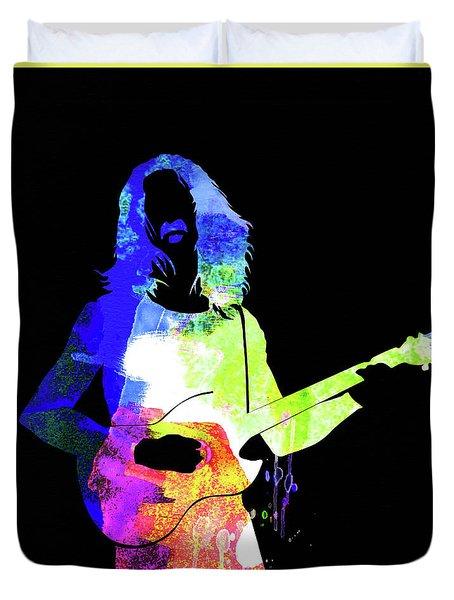Frank Watercolor II Duvet Cover