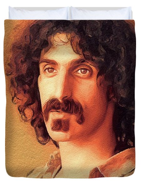 Frank Zappa, Music Legend Duvet Cover