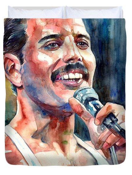Freddie Mercury Live Aid Duvet Cover