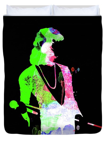 Freddie Watercolor II Duvet Cover
