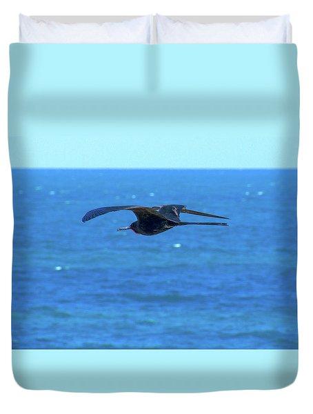 Frigatebird Duvet Cover
