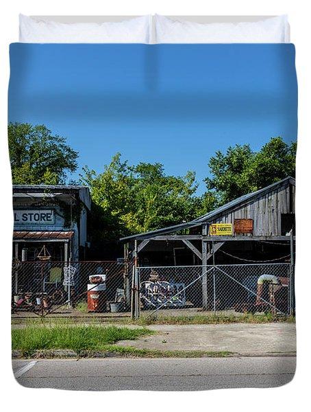 Frog Hollow General Store - Augusta Ga Duvet Cover