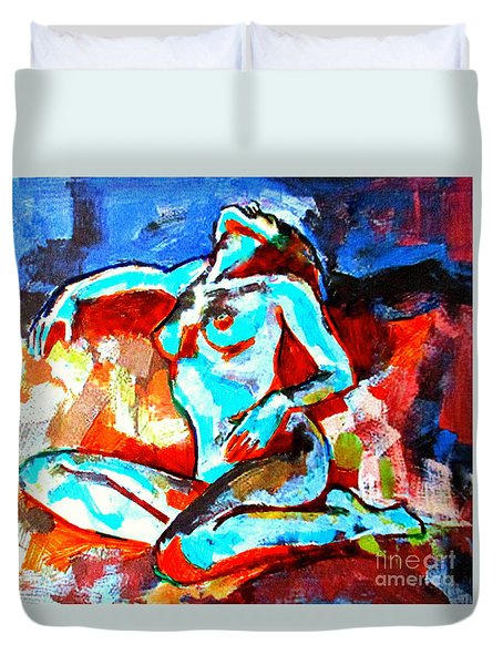 From Evening To Dawn Duvet Cover