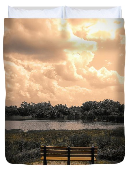 From Here To Eternity Duvet Cover