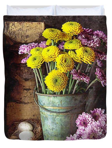 From The Garden Duvet Cover