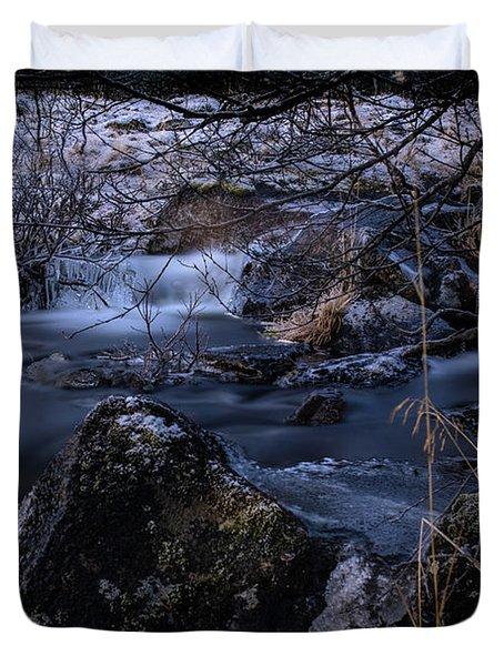 Frozen River II Duvet Cover