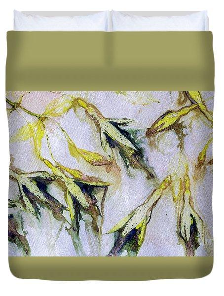 Fuchsia Eco Printed Magic Duvet Cover