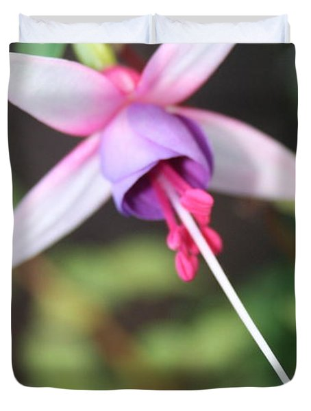 Fuchsia Showing Off In All Its Glory Duvet Cover
