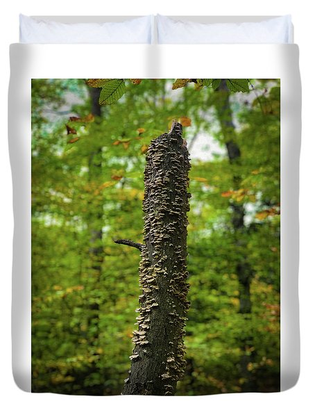 Fungus Among Us Duvet Cover