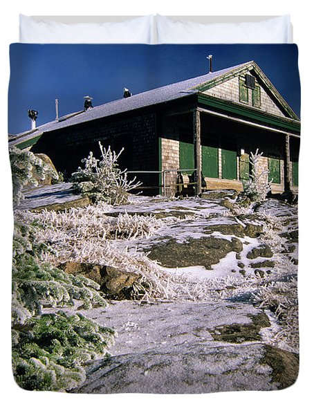 Galehead Hut - Appalachian Trail, New Hampshire  Duvet Cover