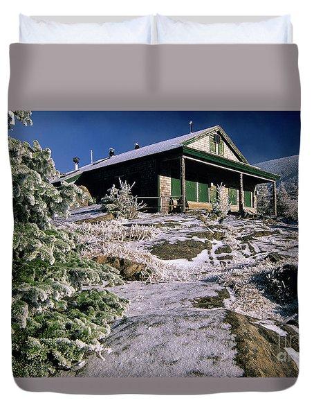 Galehead Hut - Appalachian Trail, New Hampshire  Duvet Cover