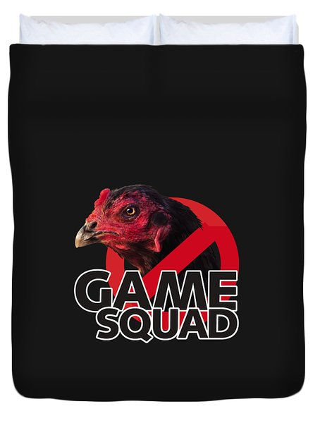 Game Squad Duvet Cover