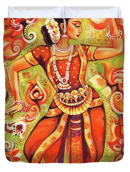 Ganges Flower Duvet Cover